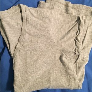 LAmade v-neck short sleeve basic heather gray XS